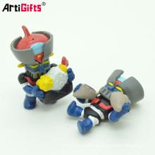 Artículos promocionales para niños muñeca de resina de fundición estatuilla de dibujos animados