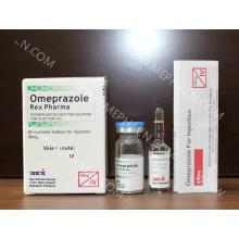 Omeprazol Anti-Úlcera para Inyección / Lansoprazol para Tratamiento de Enfermedades Estomacales