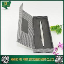 Caja personalizada de la pluma del diseño de encargo