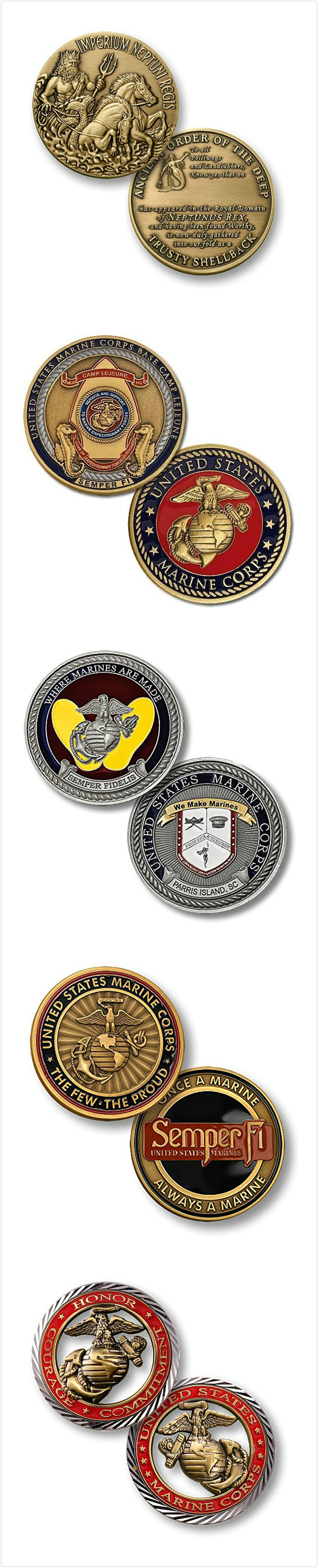 Metal Challenge Coin