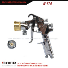 Multi Color Marble Painting Spray Gun W-77A on paint tank