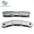 Cadena transportadora de acero inoxidable doble / grande