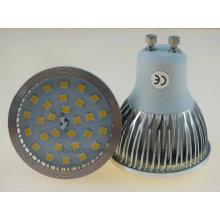 GU10 2835 SMD LED ampoule avec couvercle Ce RoHS CB
