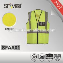 ISO EN 20471 Chaleco de seguridad reflectante
