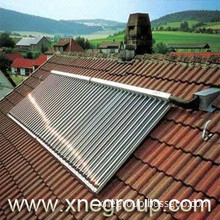 Solar heat pipe collector for good quality