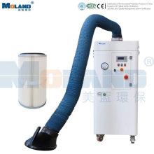 Sistema de purificação de ar de soldagem e filtração autolimpante