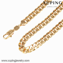 43192-Xuping Primavera festivial colar de correntes de jóias de ouro