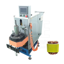 Economic Type Induction Motor Stator Coil Lacing Machine