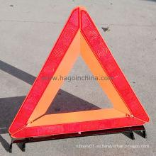 Triángulo de advertencia de seguridad para automóviles