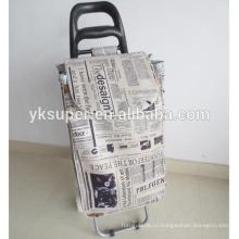 Модная складная тележка для багажа