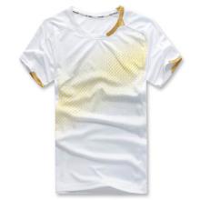 2014 Badminton en gros pas cher chemises classiques Badminton Sport chandail blanc Badminton