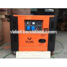 Single Phase Copper Wire 7.5KVA Super Silent Diesel Generator