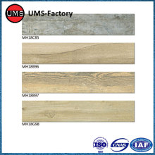 Wood effect tiles for outside patio