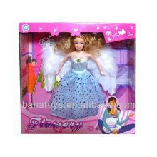 Navidad de la muñeca del ala del ángel 2013 nuevos regalos calientes de los artículos