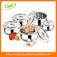 Conjunto de ollas de acero inoxidable (RMB)