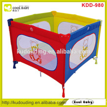 Fabricante Square Baby Playpen para o bebê para jogar