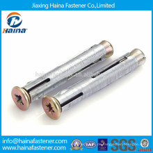 China Hersteller Metall Fensterrahmen Anker / erweiterbar Hohlwand Anker M10