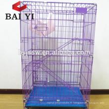 2018 vente en gros vente chaude pliage grande cage de chat