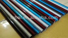 factory OEM carbon fiber glossy finish tube