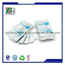 Resellable Cmyk impresión en hilera de plástico Ziplock bolsa
