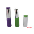 Round Purple Makeup Lipstick Container