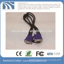 Good quality VGA to VGA Cable male to female 15pin 3+6