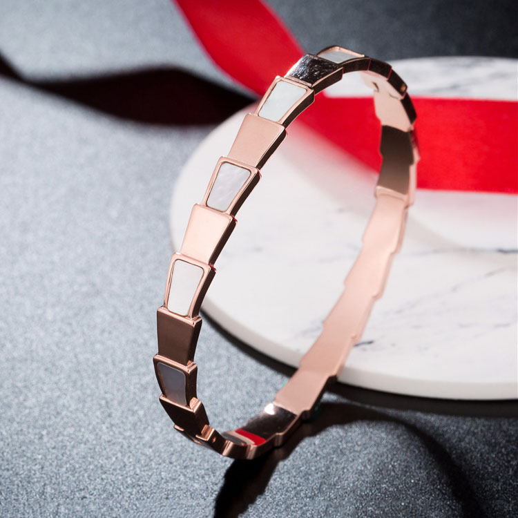 Rose Gold Bangle Bracelets