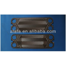 Vicarb V13 related 316L plate heat exchanger, heat exchanger manufacture, heat exchanger plates