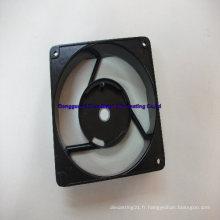 Pièce en aluminium pour ventilateur de plafond avec SGS, ISO9001: 2008