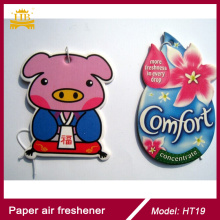 New Car Custom Made Paper Air Freshener/Car Perfume