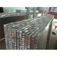 Panneaux en aluminium peints en miel pour revêtements muraux et toits
