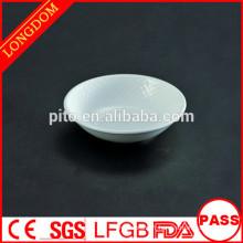 Nouveau modèle de forme en diamant petit plat de sauce céramique / porcelaine