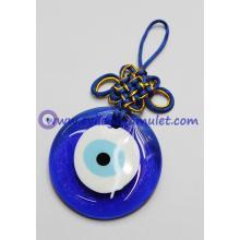 Glass Wall Hanging EVIL EYE PROTECTION Charm Amulet Evil Eye Decorative