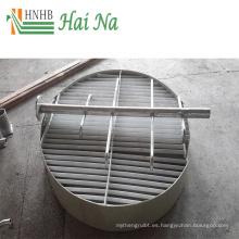 Filtro de desmineralizador no fibroso de la limpieza del polvo Eliminador de la niebla