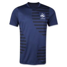 France Prematch Training Top 2014 Soccer Jersey