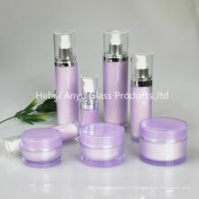 15ml 30ml 50ml 80ml 90ml 100ml 120ml Rond Lotion Crème Container Emballage Cosmétique, Bouteille Cosmétique Acrylique