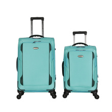 suitcase parts trends nylon fabric trolley sets luggage