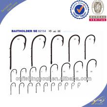 FSH028 82154 Crochets de pêche en acier au carbone à haute teneur en hameçons