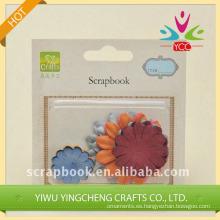 Fabrica de venta por mayor de Scrapbook, Scrapbook papel flor