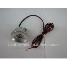 Pista de aluminio ligera del globo del ojo 3w 3w para el guardarropa