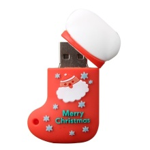Cadeau de Noël Stock Promotion USB Flash Drive