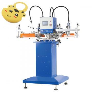 Imprimante de silicone de machine de sérigraphie de bavoir de bébé de 4 couleurs