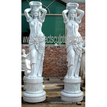 Carving Sculpture Stone Marble Statue for Garden Decoration (SY-X1194)