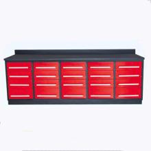 Caja de herramientas de los gabinetes de almacenamiento de la herramienta del metal Banco de trabajo de acero