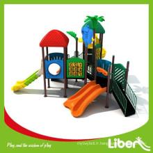 Best Selling China Whole Sale Plastic Slide Type Aire de jeux pour enfants pour la maternelle