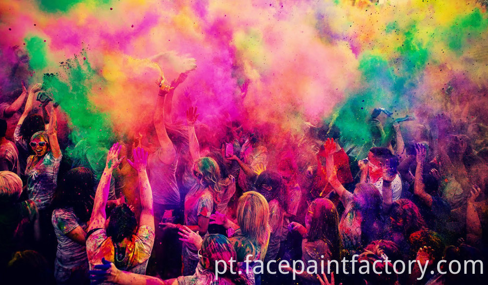Holi Color Powder 6