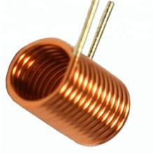Inductor de bobina de núcleo de aire de varilla de alambre de cobre magnético