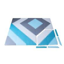 federnder faltbarer Babyteppich aus Baumwolle