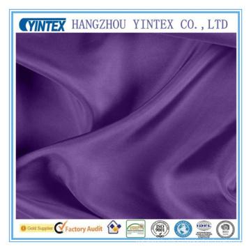 Proveedor de China Textil para el hogar Tela de seda de mora púrpura