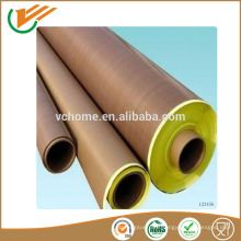 Made in china jiangsu manufacture Thermal resistance corrosion prevention PTFE coated fiberglass adhesive tape